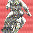 Steve McQueen - Red by Gary Hogben