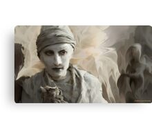 Yewll in Revery Defiance Canvas Print