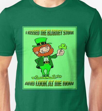ST. PATRICKS DAY; I Kissed the Blarney Stone Unisex T-Shirt