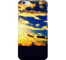 Stunning sunset at Barr Beacon in Birmingham iPhone Case/Skin