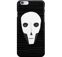 Skull face iPhone Case/Skin