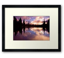 Shrouded In Clouds Framed Print