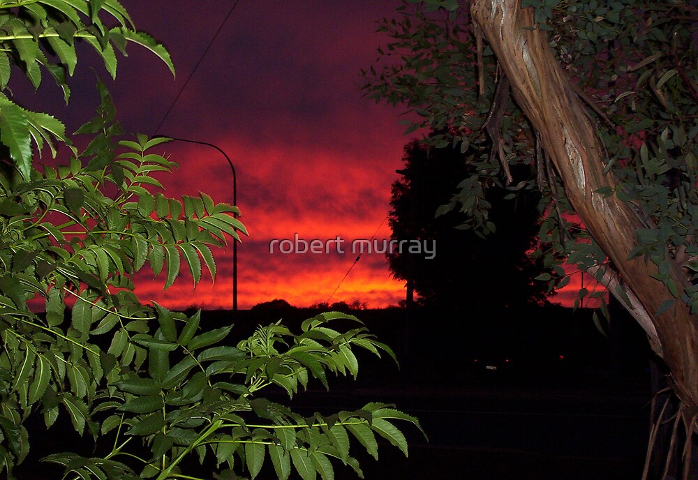 sunrise Mt Magnet by robert murray