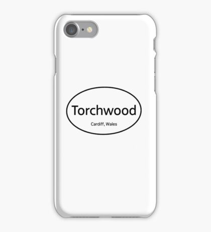 Torchwood Euro  iPhone Case/Skin