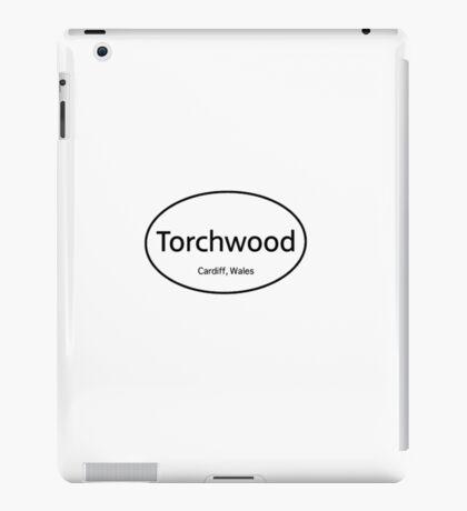 Torchwood Euro  iPad Case/Skin