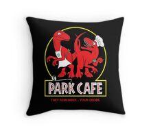 Raptors in the Kitchen 2 Throw Pillow