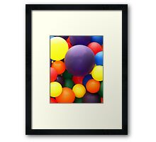 Lets Celebrate! Framed Print