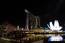 Singapore: Marina Bay Sands by Kasia-D