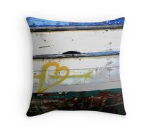 Love-Boat  Throw Pillow