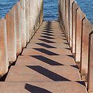 Boardwalk Shadows by Sarah Mosbey