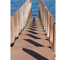 Boardwalk Shadows Photographic Print