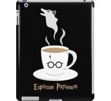 Espresso Patronum - Wolf iPad Case/Skin
