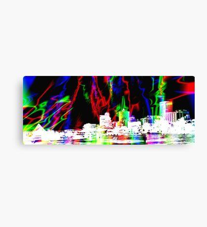 Memphis Magic Contemporary Art  Canvas Print
