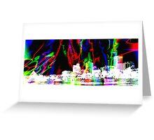 Memphis Magic Contemporary Art  Greeting Card
