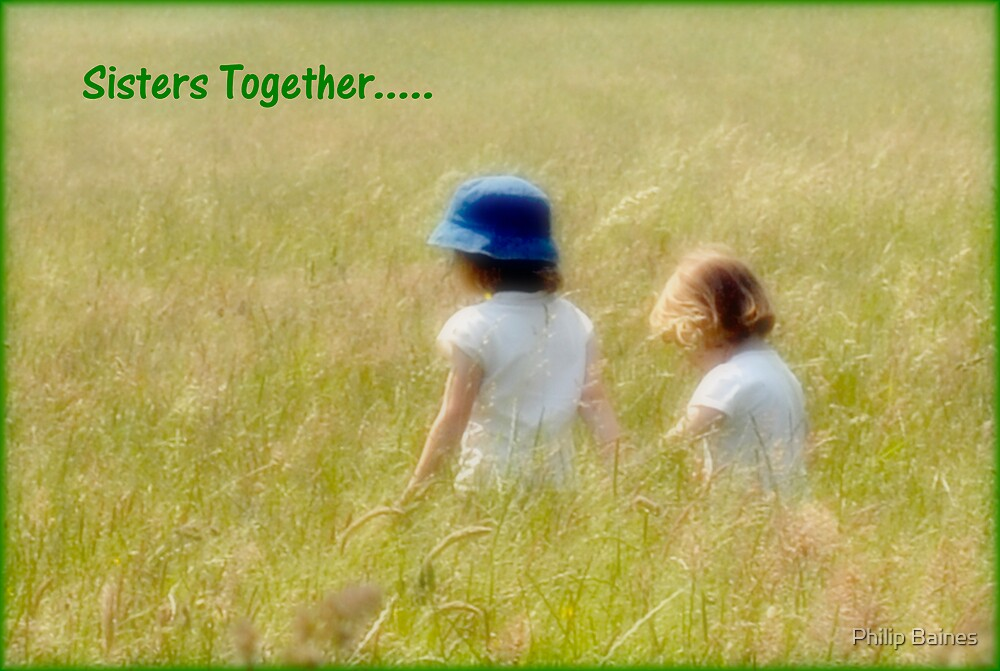 Sisters Together by Philip Baines