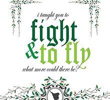 Fight & Fly by andirobinson