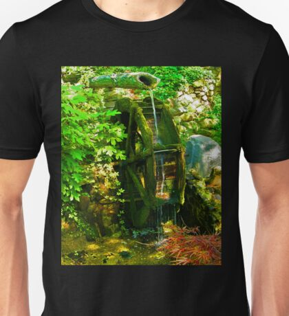 Water Wheel Unisex T-Shirt