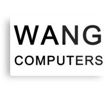 Wang Computers - Martin Prince The Simpsons Metal Print