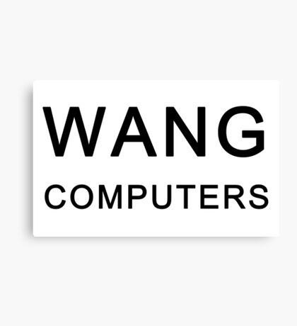 Wang Computers - Martin Prince The Simpsons Canvas Print
