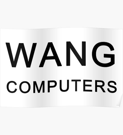 Wang Computers - Martin Prince The Simpsons Poster