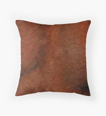 Oily Bust Throw Pillow