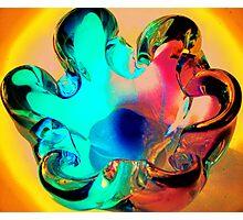 glass 6 Photographic Print