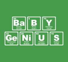 Baby Genius - Periodic Table Kids Clothes