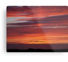 Sunset Tory Island, County Donegal, Ireland. Metal Print