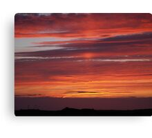Sunset Tory Island, County Donegal, Ireland. Canvas Print