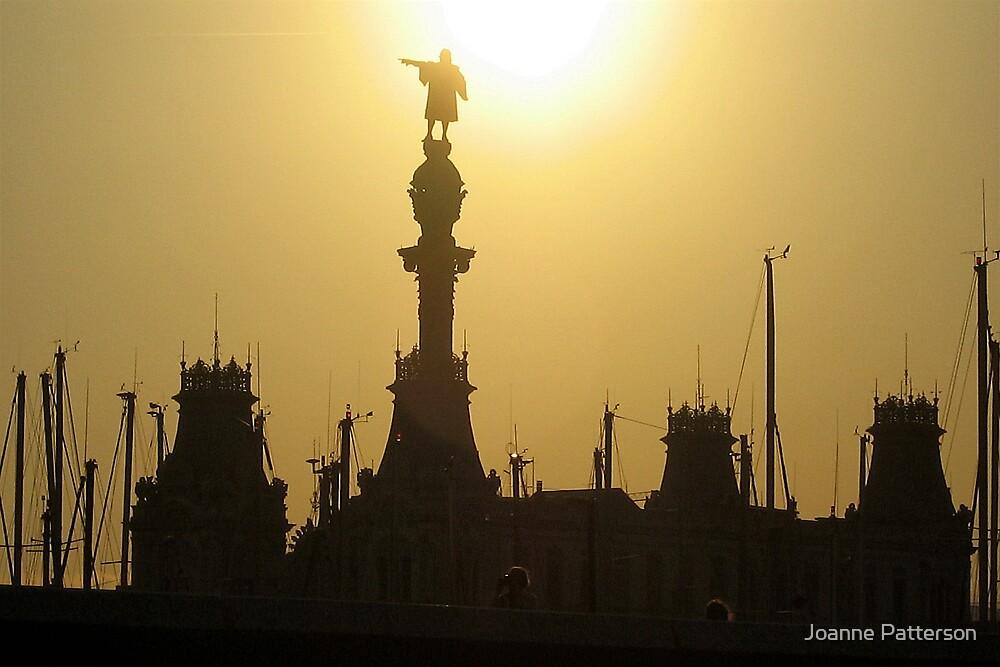 Barcelona Sun Set, Barcelona, Spain by Joanne Patterson