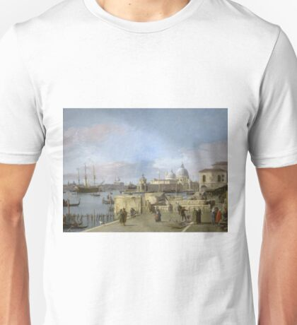 Canaletto - Entrance To The Grand Canal From The Molo, Venice Unisex T-Shirt