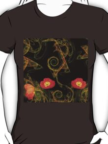 Decorative poppy T-Shirt