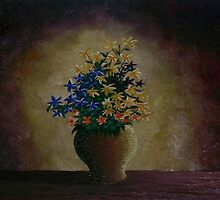Flowers in a Vase by kehinde