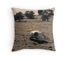 Lost The Fight Throw Pillow
