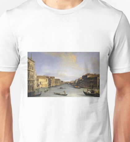 Canaletto - Grand Canal From The Palazzo Balbi Unisex T-Shirt