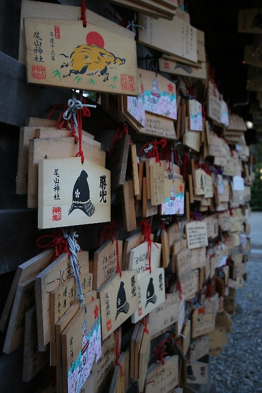 Ema boards Oyama Jinja Shrine - Kanazawa  by Trishy