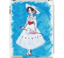 Miss Poppins iPad Case/Skin