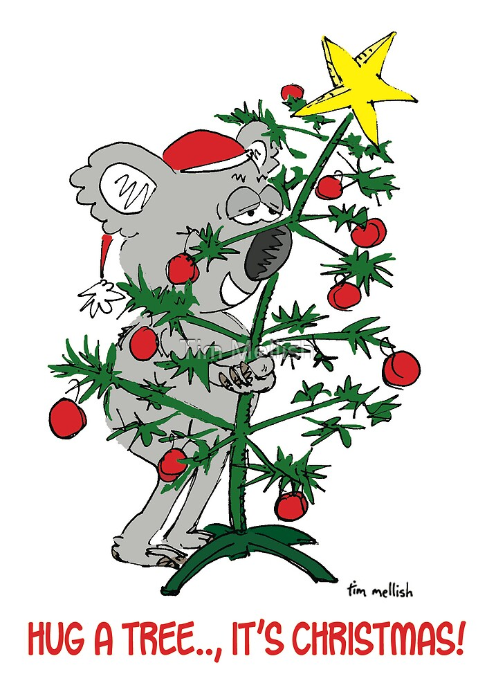 hug a tree by Tim Mellish