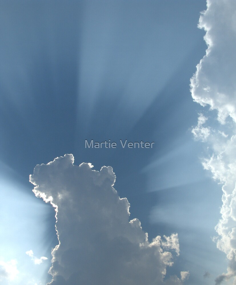 Cloud Halo by Martie Venter