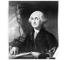Portrait of George Washington Poster