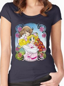 Candy & Terence Women's Fitted Scoop T-Shirt
