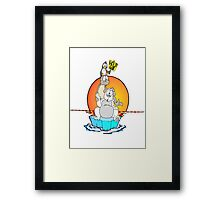 Save the Arctic Framed Print
