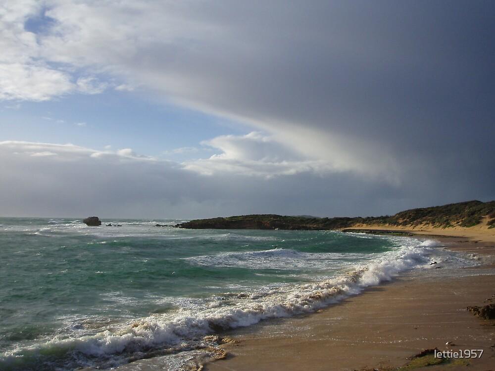 Beach on Western Australian Coast.  South of Perth  by lettie1957