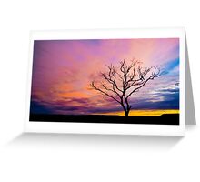 Spindly Dusk Greeting Card