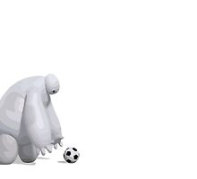 Baymax and the Ball by Connor Keane