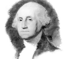 Portrait of George Washington by Vintage Works