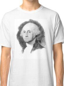 Portrait of George Washington Classic T-Shirt