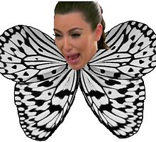Butterfly Kim by Isabella Mendiola