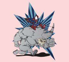 Spider-man riding Rhino Kids Clothes