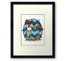 Gamer til Death Framed Print